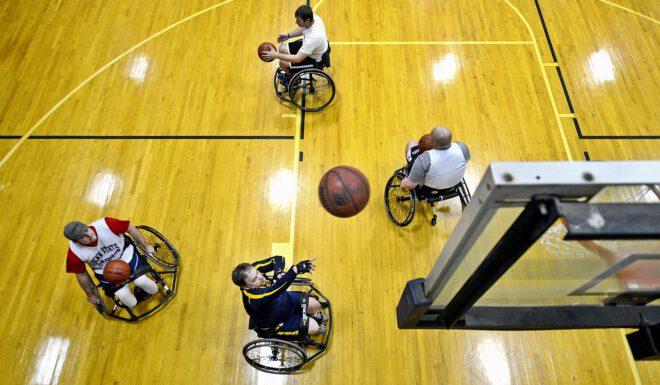 sporten met beperking